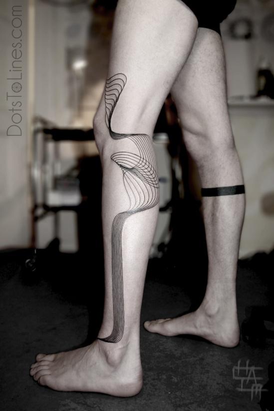 Gorgeous Geometric Tattoo  by artist