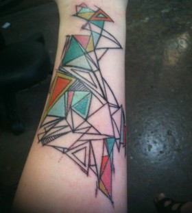 Gorgeous Geometric Tattoo  image
