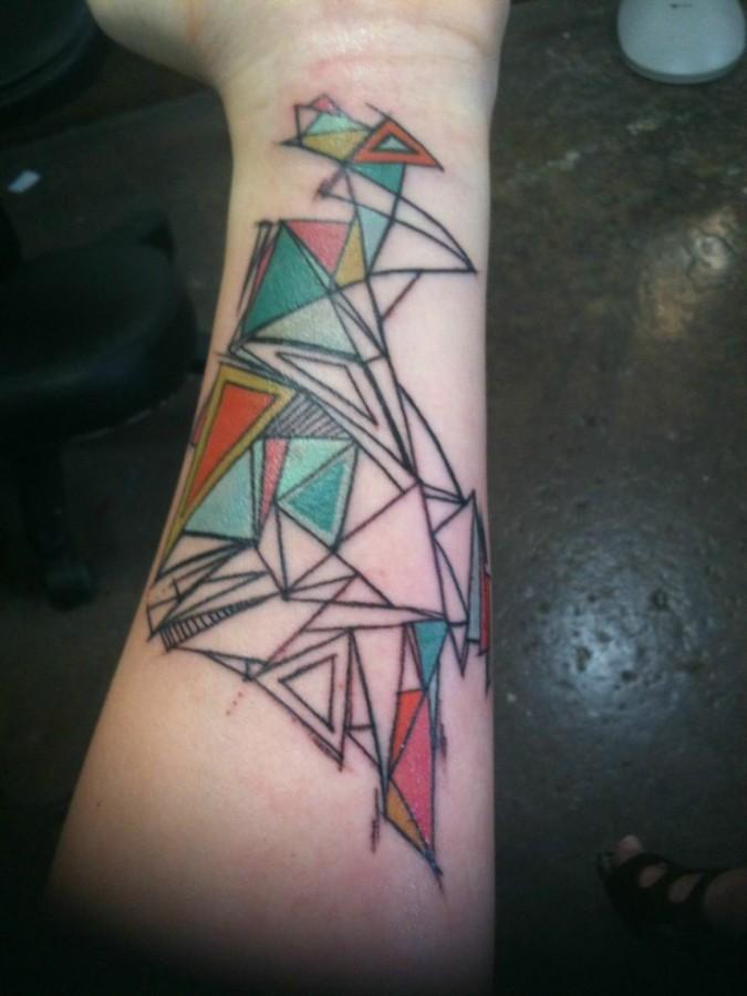 Gorgeous Geometric Tattoo  image