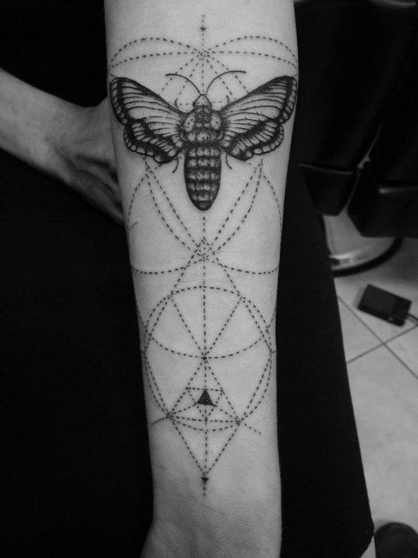 Gorgeous Geometric Tattoo  innovative
