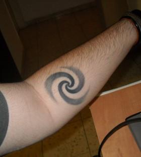 Hand symbols tattoo
