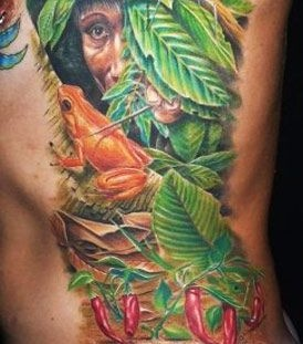 Jungle tattoo by Zhivko Baychev