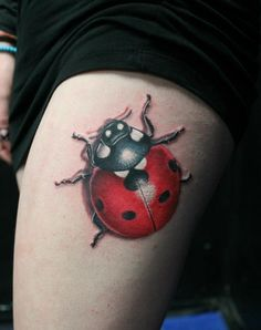 Ladybird tattoo by Zhivko Baychev