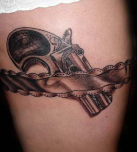 Lovely guns tattoo