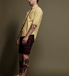 Man with tattoos model