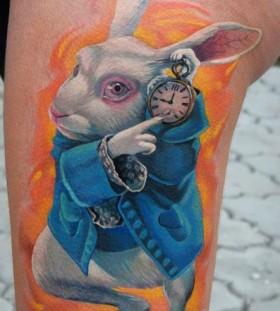Rabbit cartoon tattoos