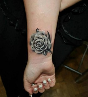 Rose tattoo realistic roses