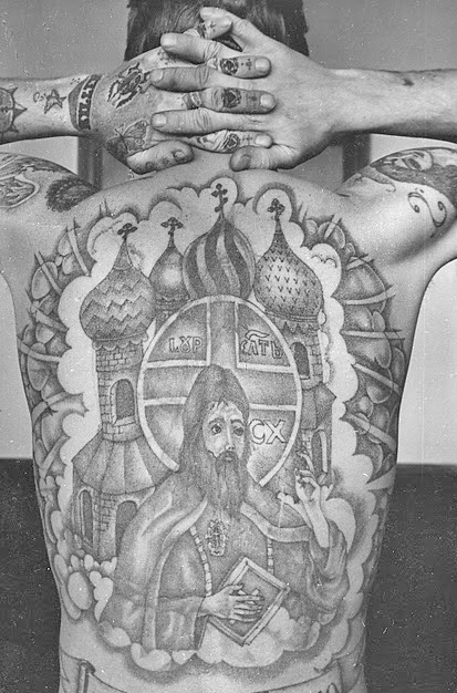 Russian prison tattoos