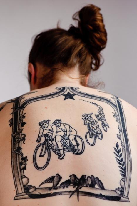Biker tattoo