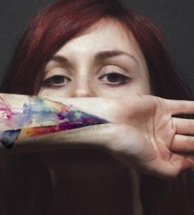 amanda hand tattoo