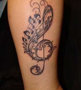 music tattoos amazing