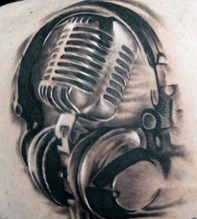 music tattoos by Bojan