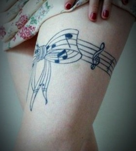 music tattoos idea