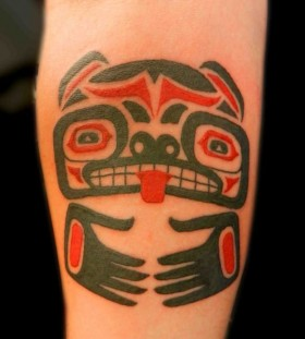 red tribal tattoo cool charachter