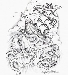 tattoo sketch fear inked