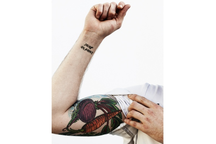 vegetable tattoo photo