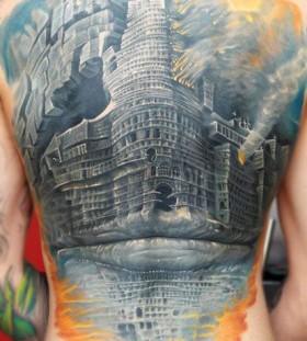 Amaizing architecture tattoos