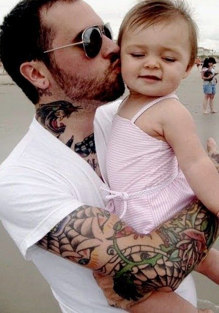 Amaizing father and daughter tattoo