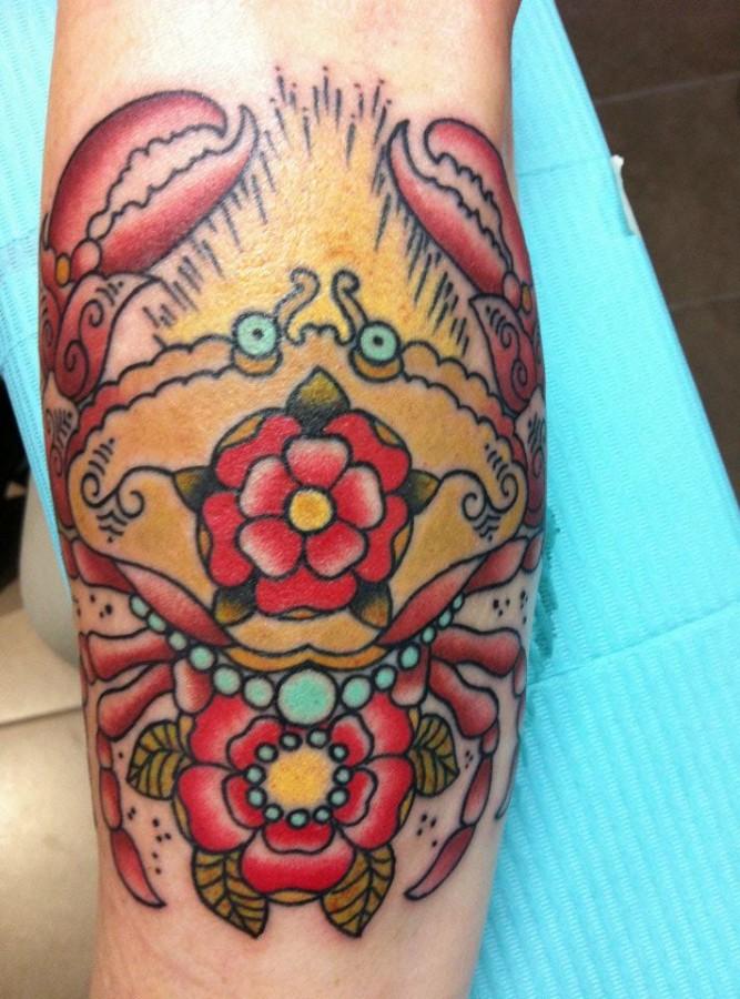 Amaizing tattoo by Hania Sobieski