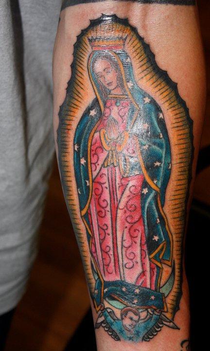 Amaizing tattoo by Mike Schweigert