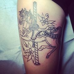 Awesome horse tattoo