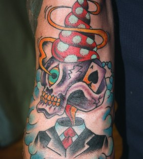 Awesome tattoo by Mike Schweigert