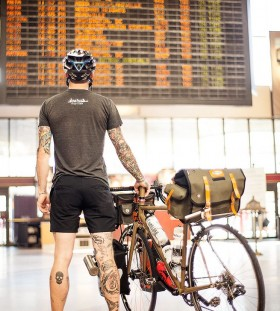 Biker bike tattoo