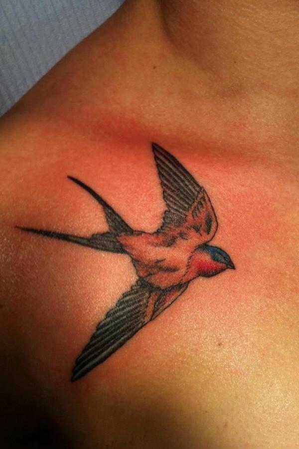 Birds tattoo by Hania Sobieski