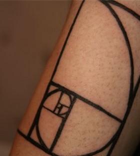 Black architecture tattoos