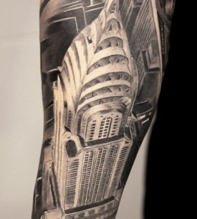 Buildings architecture tattoos