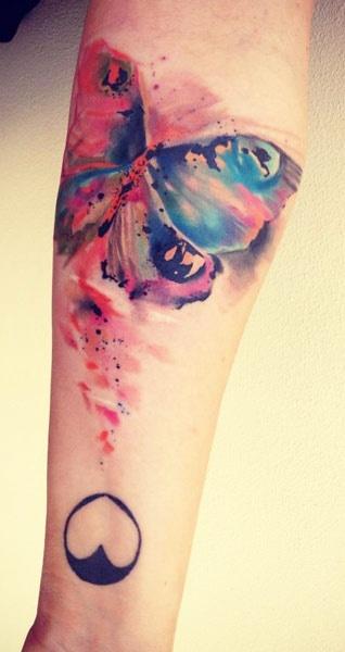 Butterfly Ondrash Tattoo