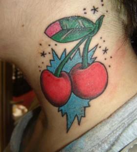 Cherry and stars