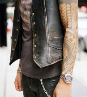 Classy sleeve tattoo