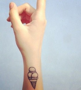 Cool ice cream tattoo