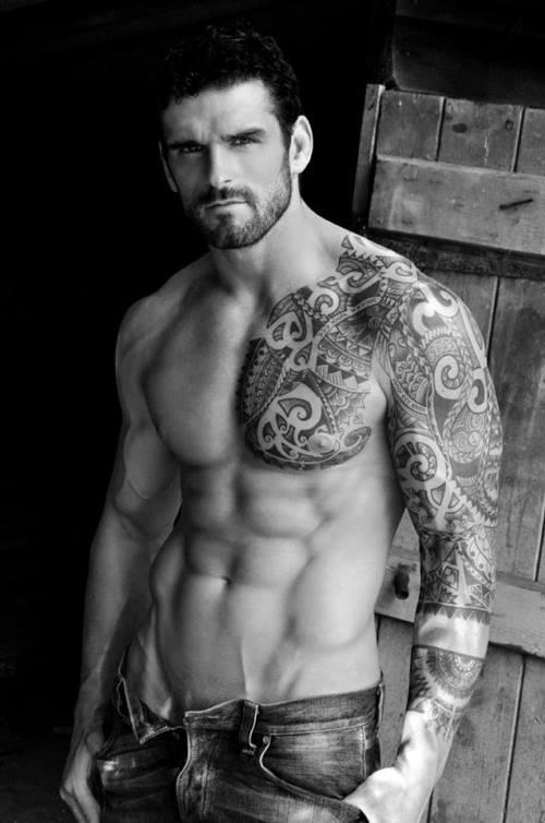 Cool men tattoo