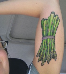 Cool vegan tattoo