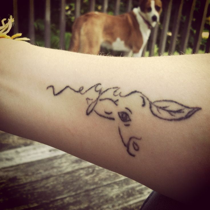 Cute Vegan Tattoo Tattoomagz Tattoo Designs Ink