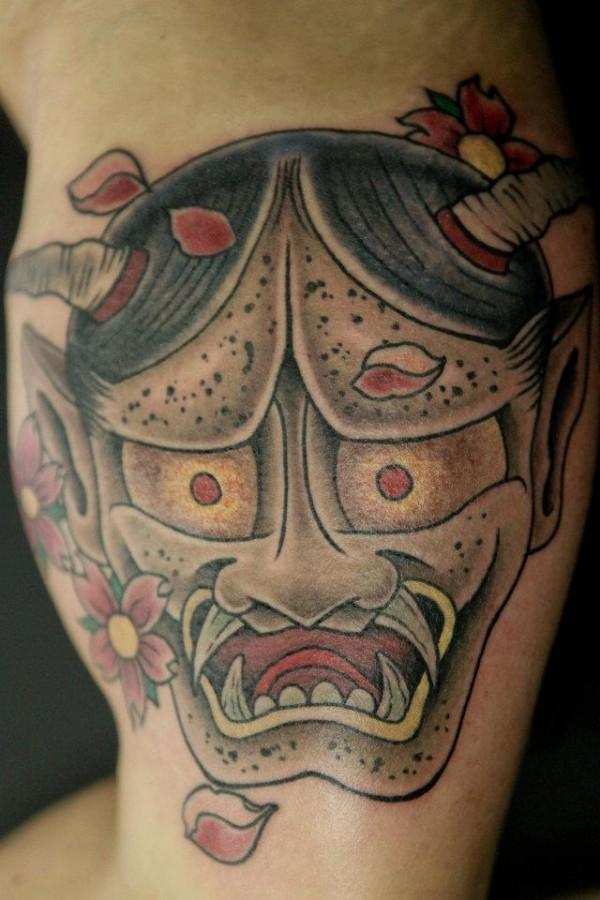Devil tattoo by Seunghyun JO aka Potter