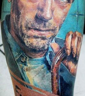 Doctor house tattoo by Mikky Volkova