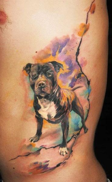 Dog Ondrash Tattoo