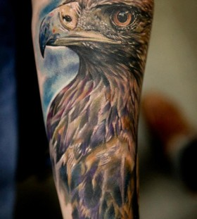 Eagle tattoo by Seunghyun JO aka Potter