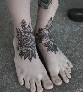 Foot bug tattoo