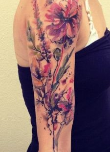 Full hand Ondrash Tattoo