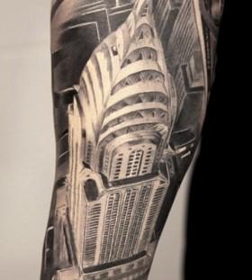 Gorgeous architecture tattoos
