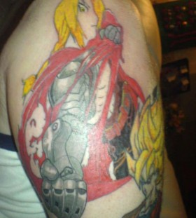 Great anime tattoo