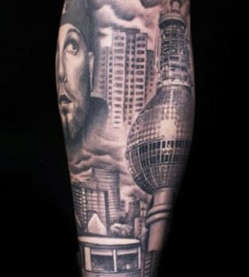 Great architecture tattoos