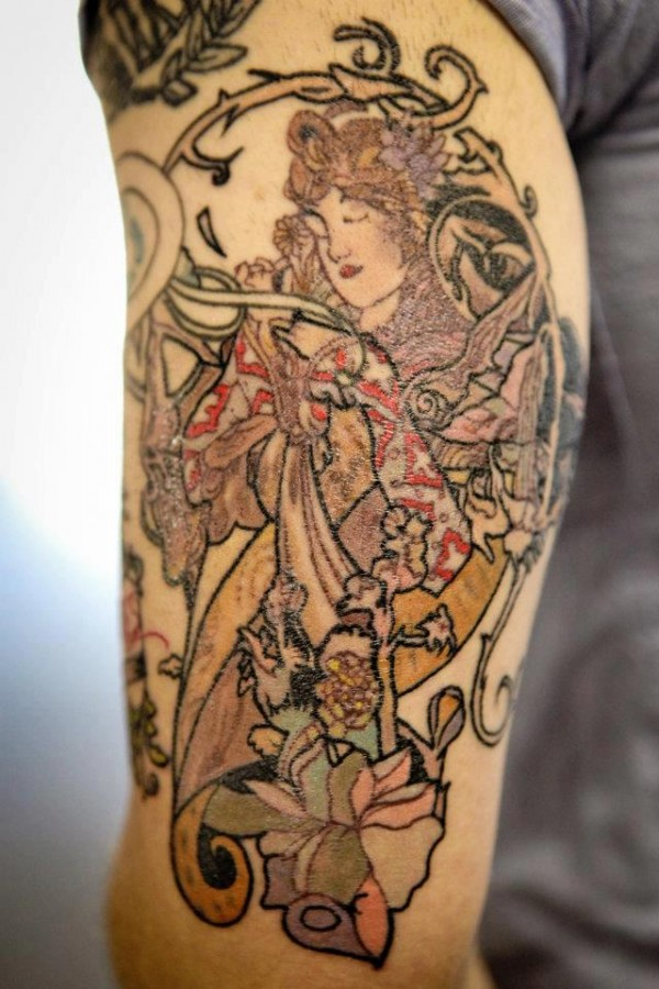Hand tattoo by Seunghyun JO aka Potter