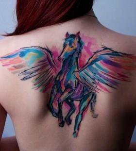 Horse Ondrash Tattoo
