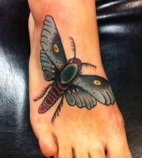 Insect tattoo by Art Junkies