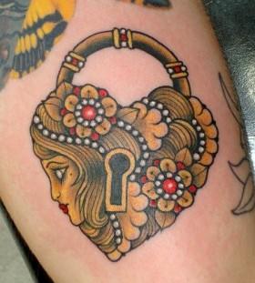 Key vintage style tattoos